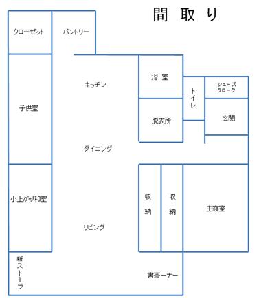 13 バリア・フリー工房(間取り)